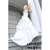 dress,felicia geometric,blanc,wedding dress
