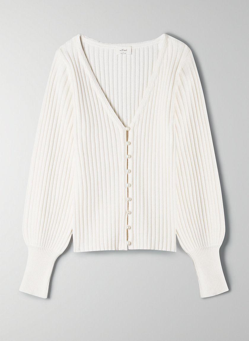 Wilfred Pearl Cardigan Sweater