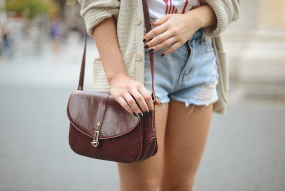 cute nails summer bag tumblr purses leather crossbody bag prettty wanderlust shorts