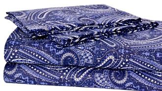pajamas home decor bedding style paisley pattern hippie