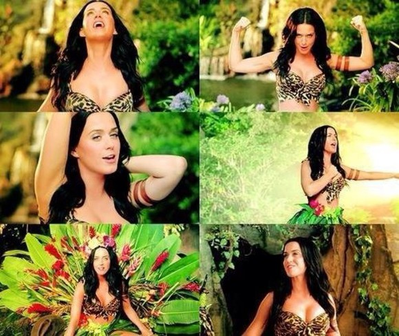 katy perry roar tank top music video