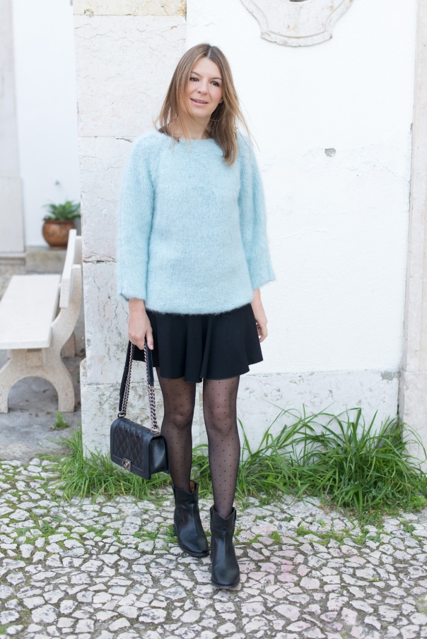 Armani Pull en Mohair | Blog Mode - The Working Girl