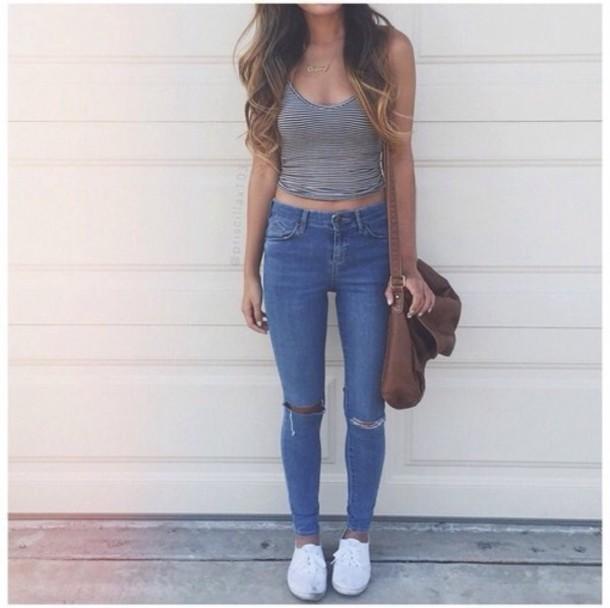 dark wash ripped jeans - Jean Yu Beauty - Jean - MX Jeans - Part 269