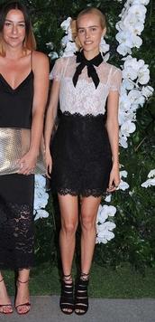dress,lace dress,isabel lucas,sandals,shoes