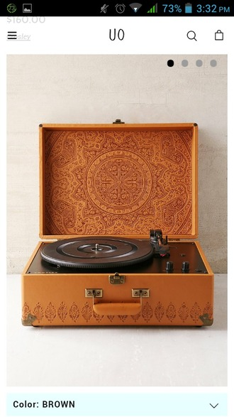 home accessory record player crisco music urban outfitters