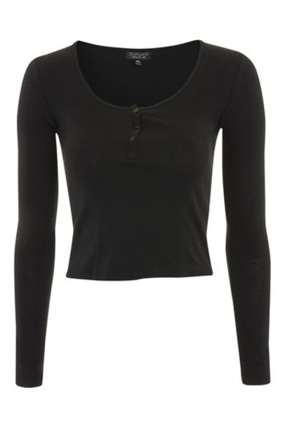 Topshop top long black
