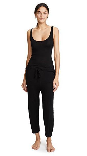 Skin jumpsuit sleep black