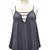 Deep Indigo V-Neck Ladder Tank | Betsy Boo's Boutique - Trendy Women's Fashion & Free Shipping Always!