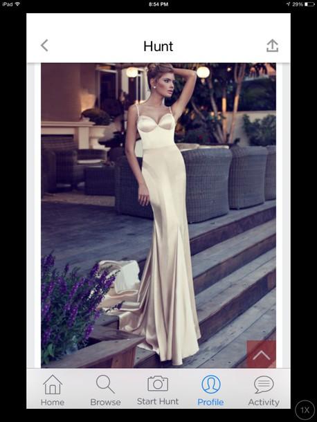 dress silk