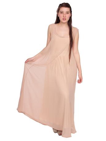 Chiffon A-Line Maxi Dress | Shop American Apparel