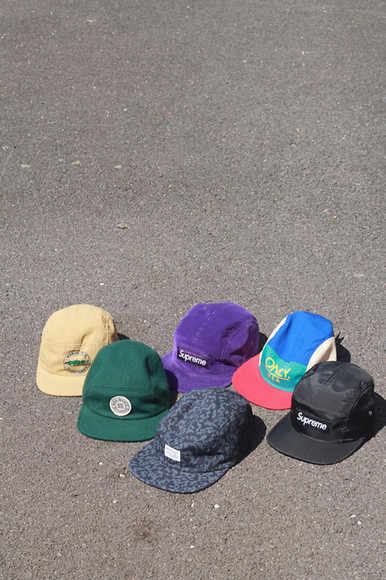 hat only supreme 5 panel cap