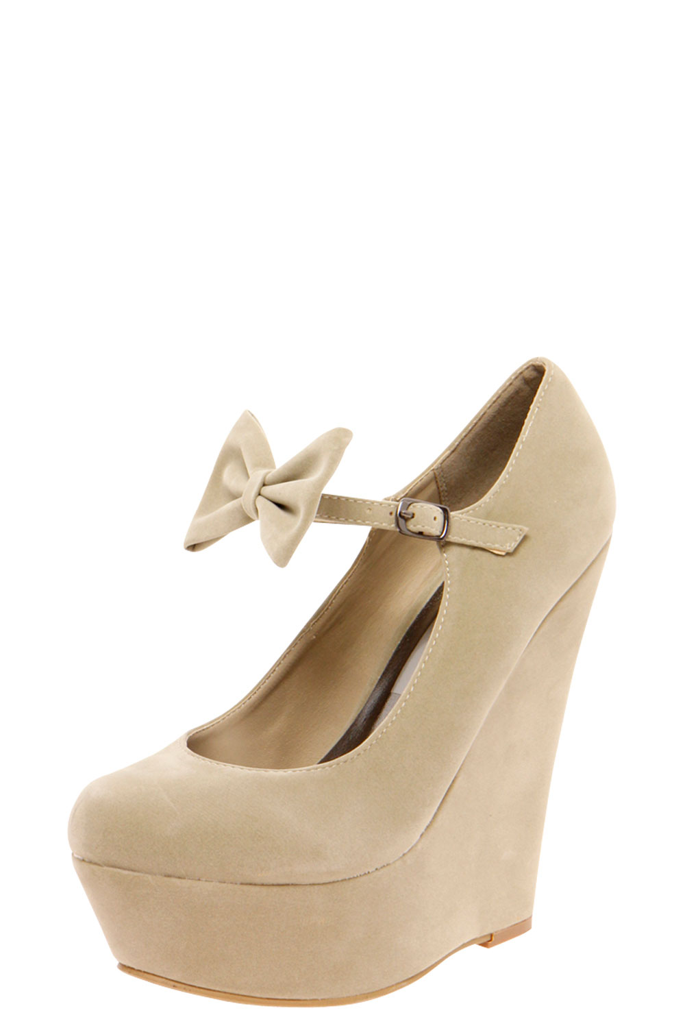 black wedge shoes with bow
