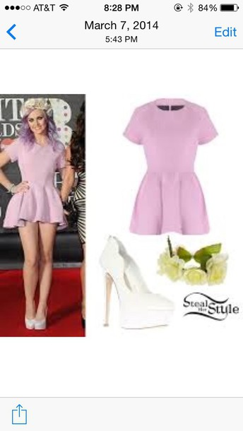 little mix perrie edwards purple dress white shoes bag shoes