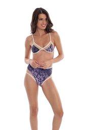 swimwear,bikini top,purple bikini,triangle bikini