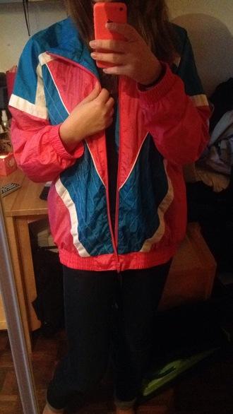 jacket veste 90s style kway vintage windbreaker