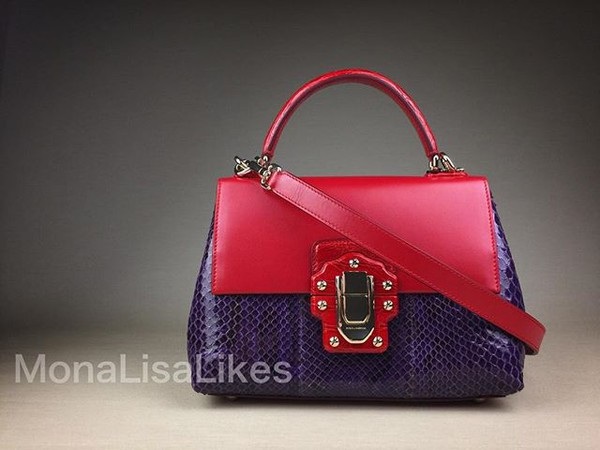bag dolce gabbana bag miss lucia dolce and gabbana dolcegabbana python bag monalisalikes miss sicily