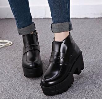 shoes platform boots boots moccasins moccasins boots