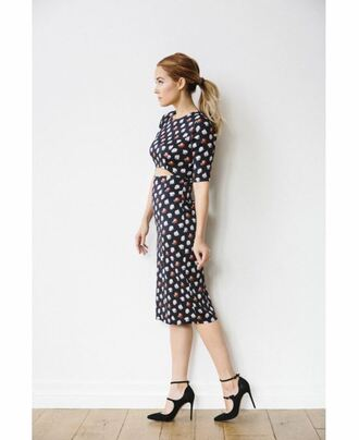 midi skirt two piece dress set two-piece blogger lauren conrad