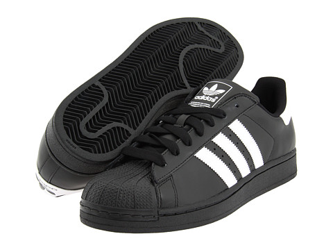 adidas Originals Superstar 2 Black/White - Zappos.com Free Shipping BOTH Ways