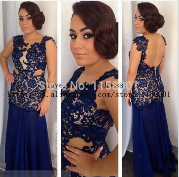 dress mermaid prom dress prom gown royal blue dress appliques prom dress long prom dress lace dress evening dress formal dress