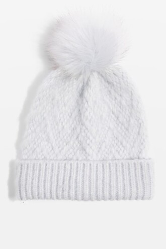 girly pale hat beanie blue