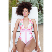 swimwear,kimikouture,custom made,curly hair,floral,nose ring,nose chain,curvy,swimwear printed,swimwear usa