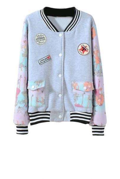 jacket kawaii dope style