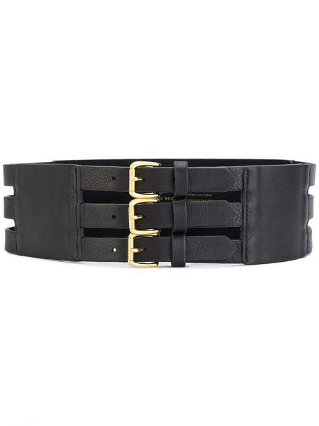 triple belt black