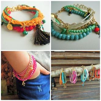 jewels friendship bracelet beaded bracelet