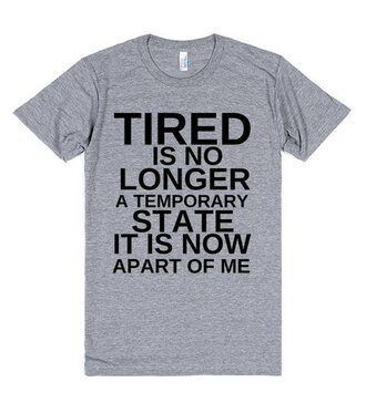 t-shirt tired sleep lazy day funny shirt bedding