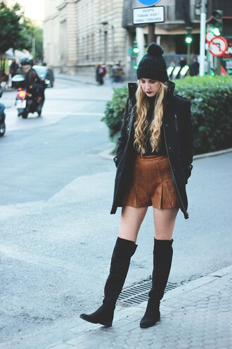 dear diary blogger shorts suede shorts fall outfits