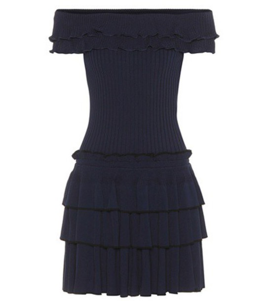 Jonathan Simkhai dress knit blue