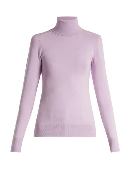 JoosTricot sweater knit light purple