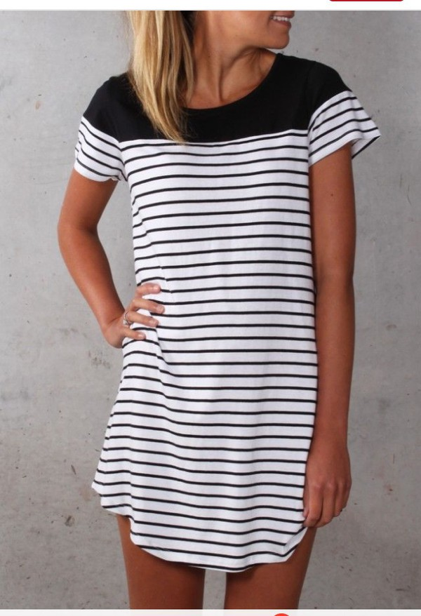 Striped Couture Shift Dress – Dream Closet Couture