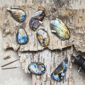 jewels,spectrolite,labradorite,pendant,jewelry,stone jewelry,boho jewelry,byvellamo