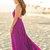 Emma Purple Flowy Maxi Dress - Morning Lavender