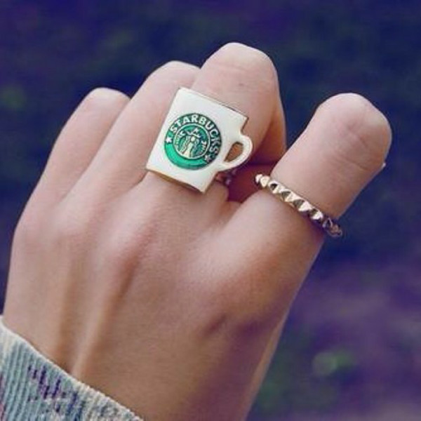 jewels starbucks coffee starbucks ring ring
