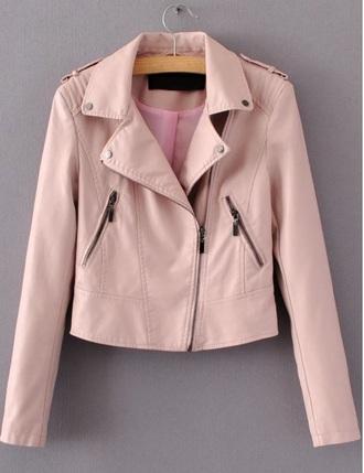 jacket girly girl girly wishlist leather leather jacket pink biker jacket