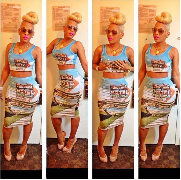 celebrity keyshia kaoir women bandage bodycon dress shirt