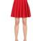 Embellished high waisted pleated skirt