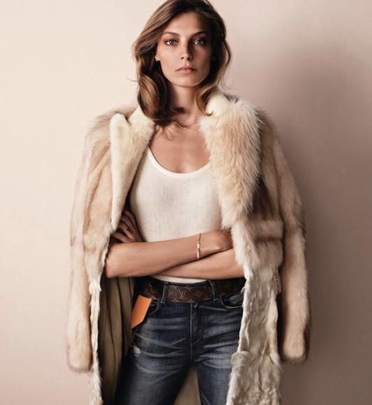 faux fur fur coat