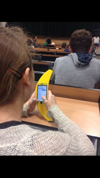 phone case underwear banana