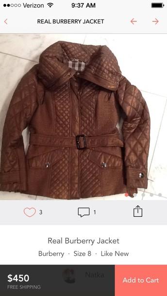 jacket burberry jacket woman's