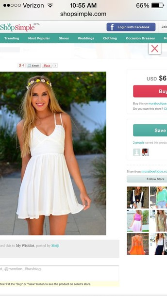 dress white dress summer dress summer outfits white graduation dresses cute dress