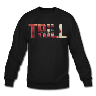 Trill Lip Crewneck | Bro_Oklyn Inc Co.