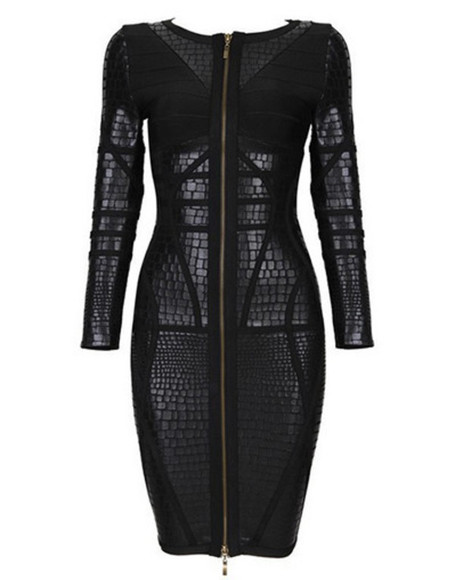 leather fashion elegant dress up wow dress dresses bandage dress