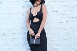 ktr style blogger dress jacket shoes bag jewels underwear