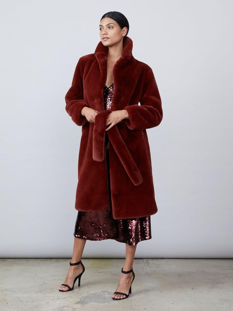 Greta Faux Fur Coat