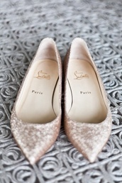 shoes,sparkle pointed flats