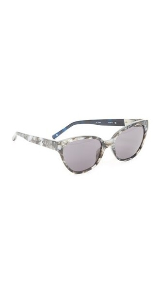 pearl sunglasses black grey